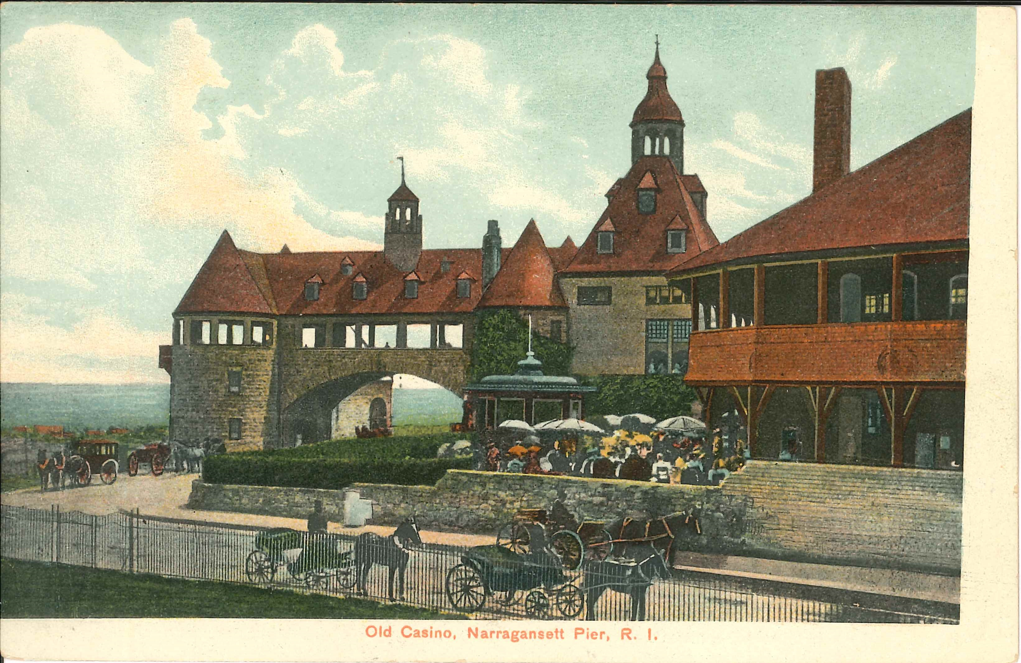 Old Casino postcard