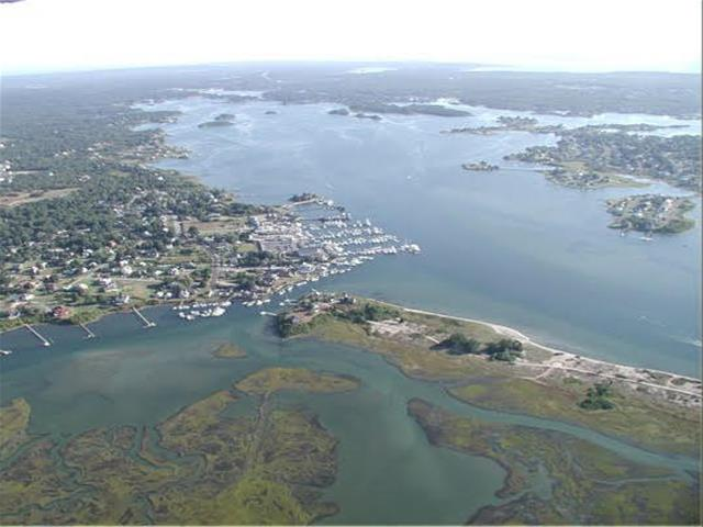 South Kingstown Mooring Aerial View
