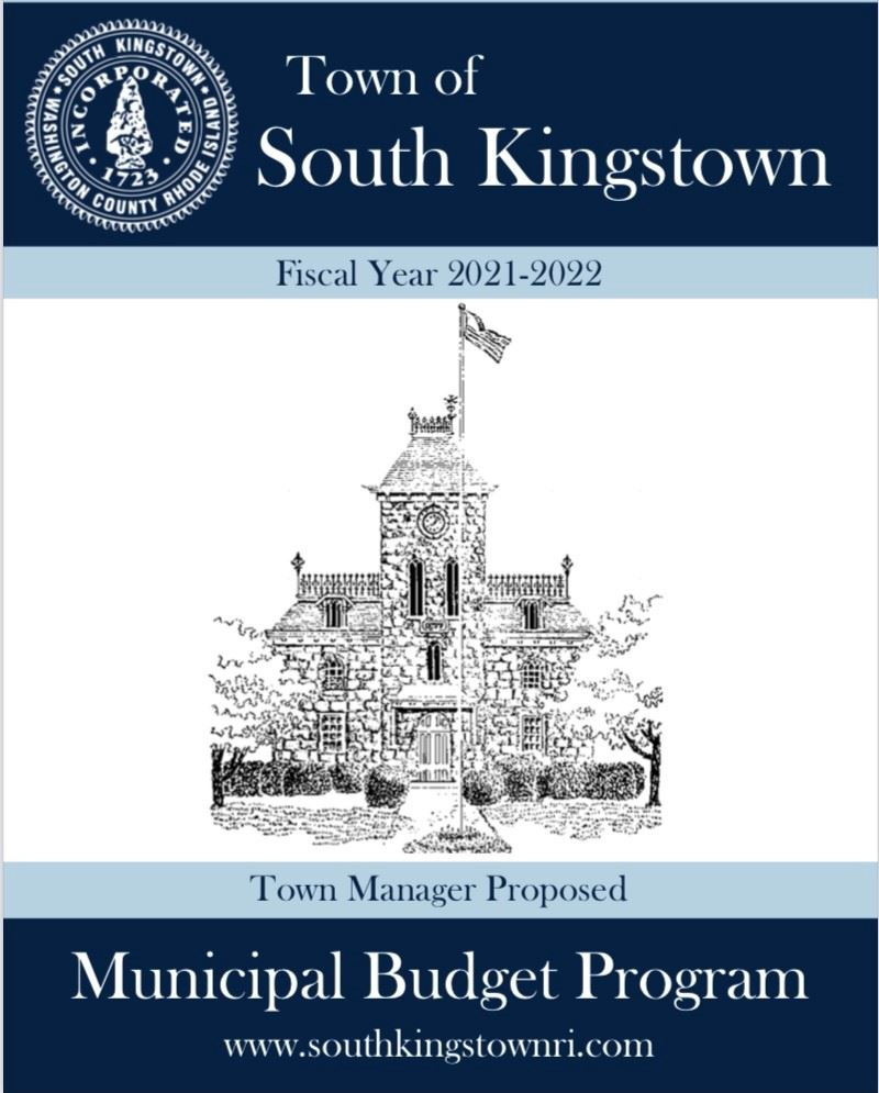 Town Manager FY 2021-2022 Proposed Budget