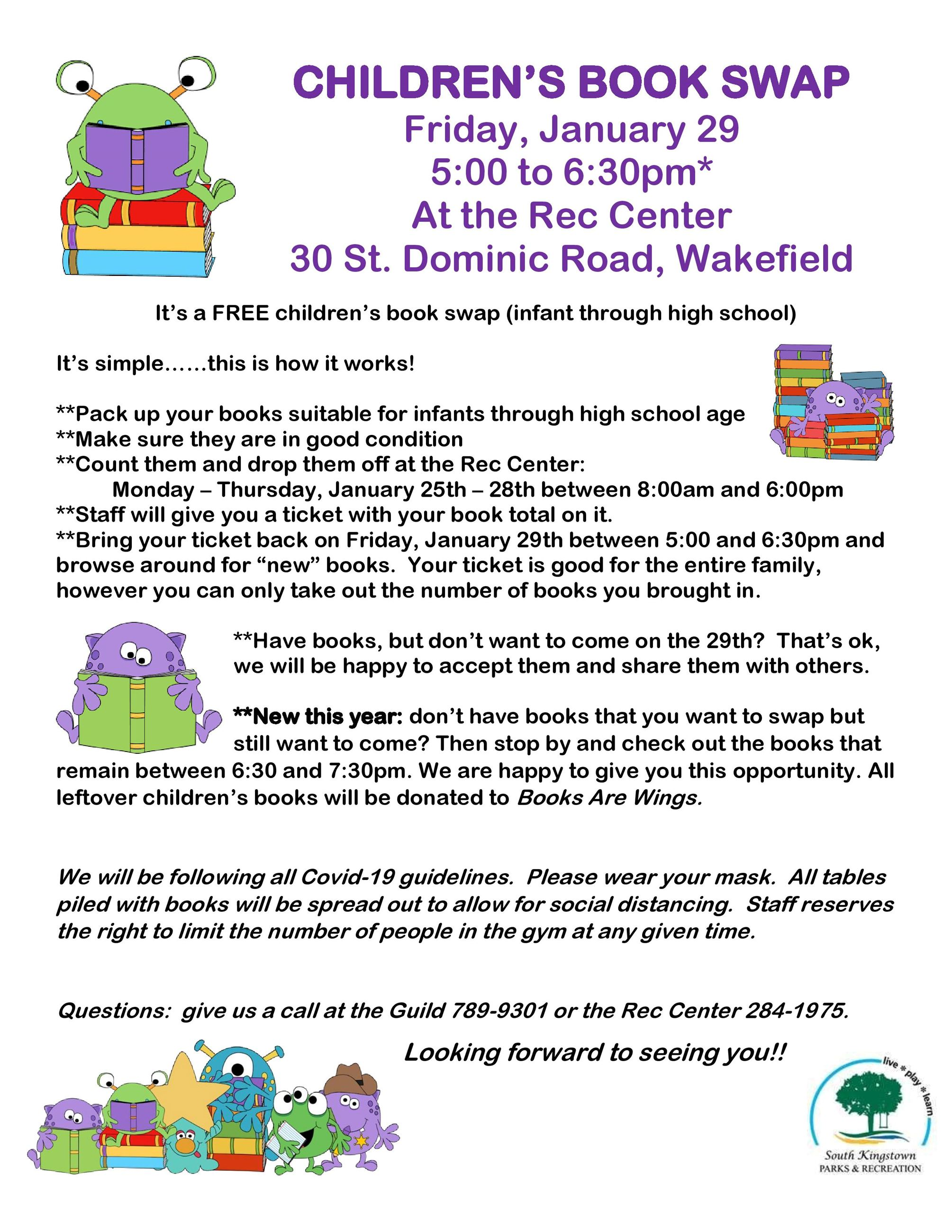 Children's Book Swap Flyer