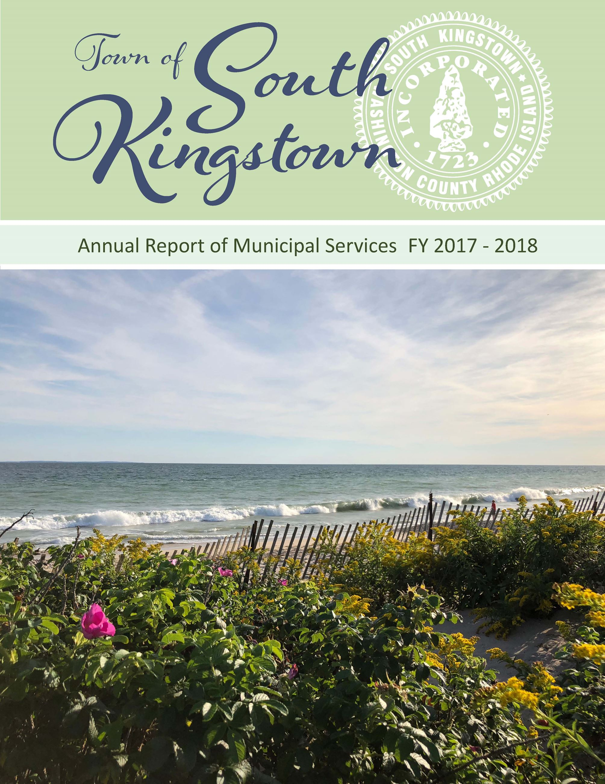 2017-2018 Annual Report Cover